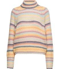 novelty stripe sweater turtleneck coltrui multi/patroon odd molly