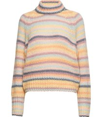 novelty stripe sweater turtleneck coltrui multi/patroon odd molly
