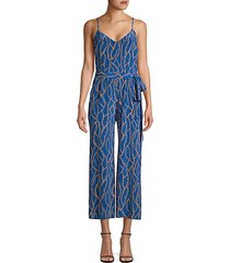 jaelyn chain print jumpsuit