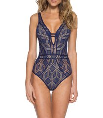 women's becca wanderlust one-piece swimsuit