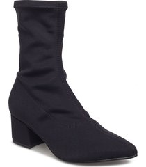 mya shoes boots ankle boots ankle boot - heel svart vagabond