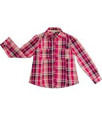 camisa fucsia mapamondo tarpan