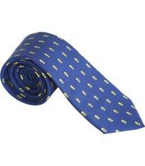 corbata azul precolombina