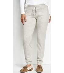 cashmere lounge pants, x large