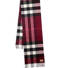 amu cashmere check scarf