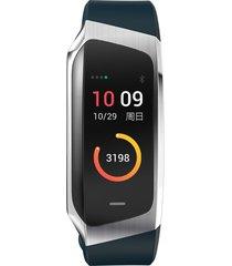 e18 smart watch monitor de ritmo cardíaco impermeable pulsera de salud