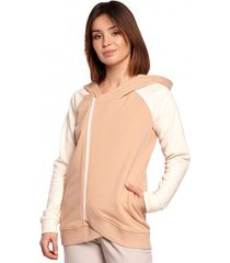 sweater be b196 colourblock pullover top - model 1