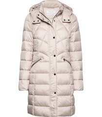 outdoor jacket no wo gevoerde lange jas crème gerry weber edition