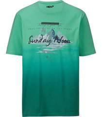 t-shirt men plus groen