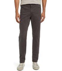 men's ag everett slim straight leg jeans, size 40 x 34 - grey