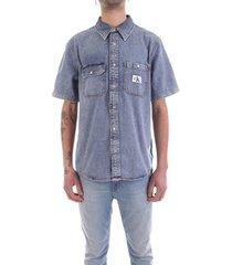 overhemd korte mouw calvin klein jeans j30j314653