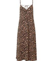 baum und pferdgarten women's astra leopard slip dress - leopard - size 40 (10)