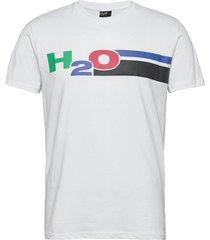 skagen tee t-shirts short-sleeved vit h2o