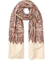 embroidered handwoven pashmina shawl