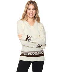 sweater blanco nano