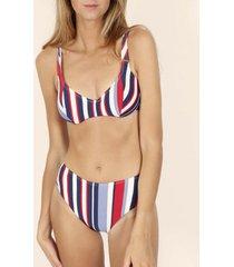 bikini admas elegante stripes 2-delige beugelbikiniset