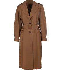 eternals woman trench coat in fresh showerproof wool