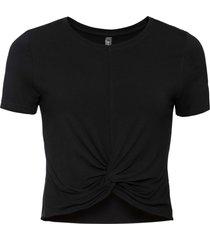 maglia corta (nero) - rainbow
