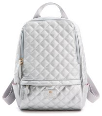 gunas cougar quilted vegan leather backpack