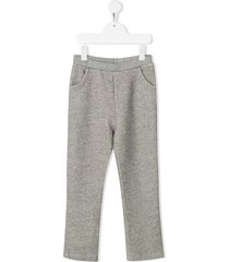 bonpoint lightweight track pants - grey