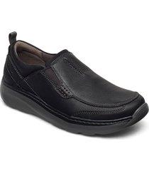 charton step loafers låga skor svart clarks