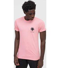 camiseta rvca fauna rosa - rosa - masculino - dafiti