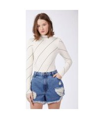 shorts over boy rasgos jeans medio - 40