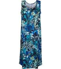 strandklänning schwab bademoden blå/grön/svart