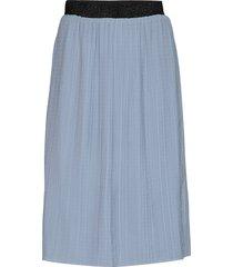 emmerlie cecilie skirt knälång kjol blå bruuns bazaar
