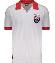 camisa inglaterra retrô 1966 masculina