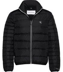 light down jacket fodrad jacka svart calvin klein jeans