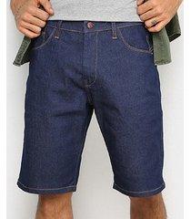 bermuda jeans ecko lisa masculina