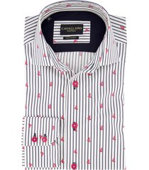 cavallaro overhemd strepen dessin