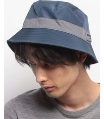 gorro azul tommy hilfiger waterproof bucket