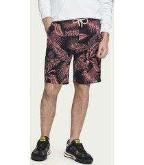 scotch & soda cotton-linen shorts