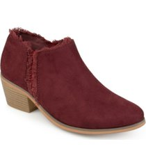 journee collection women's moxie bootie women's shoes