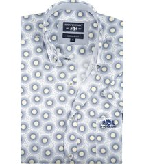 state of art korte mouw shirt navy print