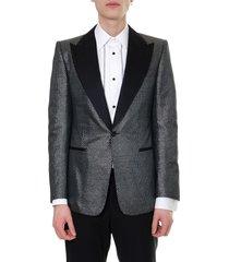 dolce & gabbana blazer jacquard single breast jacket
