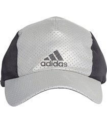 bones e gorros adidas run reflect  prata