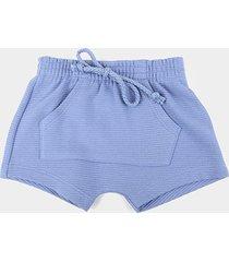 shorts infantil hering bolso canguru masculino