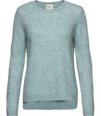 brook knit new o-neck gebreide trui blauw second female