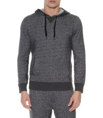 men's 2(x)ist hooded pullover, size x-large - black