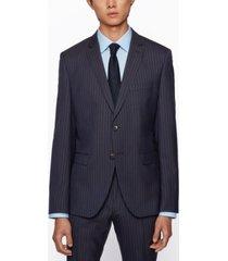 boss men's pinstripe extra-slim-fit suit