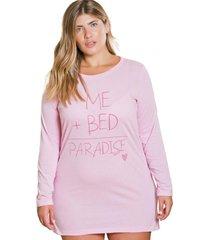 camisón cotton rosa élida