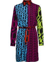 vest cassidie jurk knielengte multi/patroon desigual