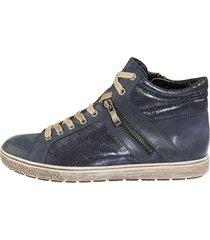 skor mona blå