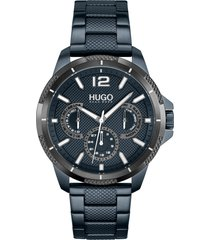 men's boss sport chronograph bracelet watch, 46mm