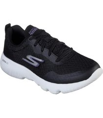 zapatos mujer  go run focus-instantly negro skechers