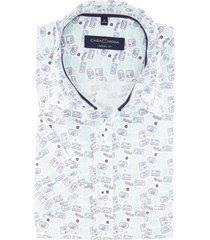 casa moda overhemd korte mouw casual fit