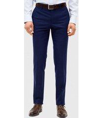 pantalón franela azul trial